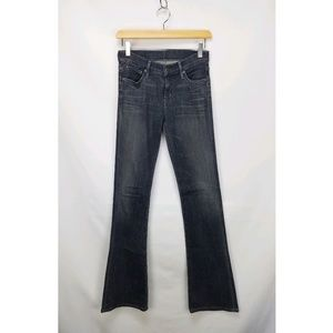 Citizens Of Humanity Stretch Denim Flared Leg Jean